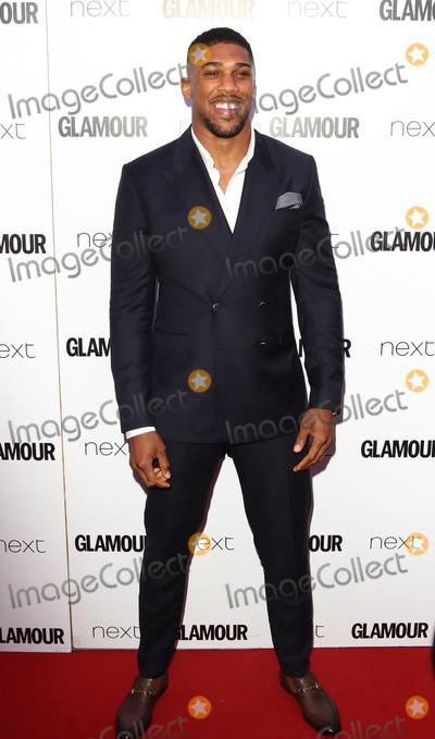 Anthony Joshua Photo - London UK Anthony Joshua at Glamour Women Of The Year Awards at Berkeley Square Gardens London on June 6th 2017Ref LMK73-J417-070617Keith MayhewLandmark Media WWWLMKMEDIACOM