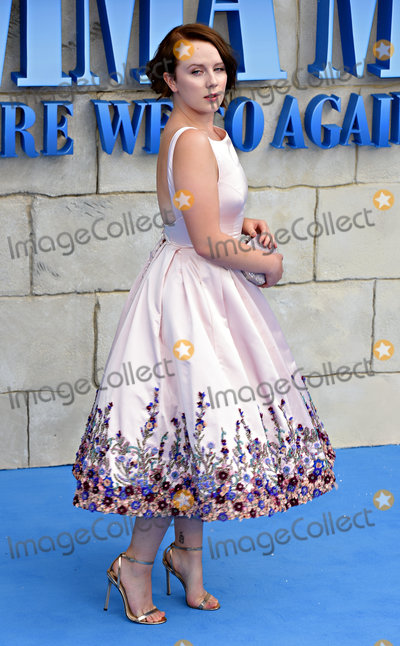 Alexa Davies Photo - London UK  Alexa Davies at The World Premiere of Mamma Mia Here We Go Again held at Eventim Apollo Hammersmith on Monday 16 July 2018Ref LMK392-J2320-170718Vivienne VincentLandmark Media WWWLMKMEDIACOM