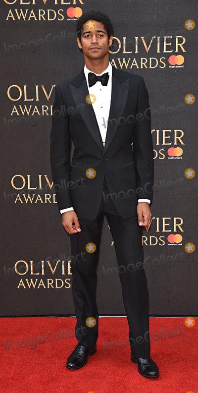 Alfred Enoch Photo - London UK Alfred Enoch at The Olivier Awards 2018 held at The Royal Albert Hall Kensington Gore South Kensington London on Sunday 8 April 2018Ref LMK392-J1868-090418Vivienne VincentLandmark Media WWWLMKMEDIACOM