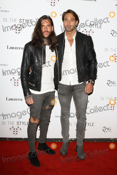 James Locke Photo - London UK Pete Wicks and James Lock at In The Style party to celebrate the launch of its SpringSummer 2016 collections at Libertine Winsley Street Londonon 31st March 2016Ref LMK73-60123-010416Keith MayhewLandmark Media WWWLMKMEDIACOM