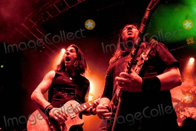 Alex Skolnick Photo - London UK Testament perform live at the O2 Shepherds Bush Empire n London Testament are Chuck Billy Eric Peterson Greg Christian Alex Skolnick and Paul Bostaph 24th July 2009Taya UddinLandmark Media