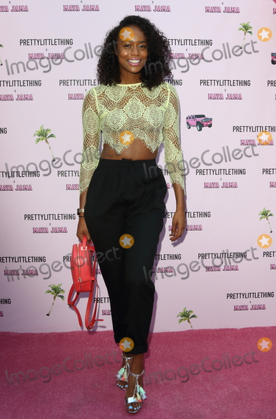 Annaliese Dayes Photo - LondonUK  Annaliese Dayes at the PrettyLittleThing x Maya Jama Launch Party at MNKY HSE Dover Street 25 June 2018Ref LMK73-S1475-260618Keith MayhewLandmark Media WWWLMKMEDIACOM