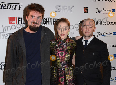 Adam Wingard Photo - London UK Adam Wingard Maika Monroe and Simon Barrett attend  The Guest  Frightfest 2014 Opening Night Film screening at Vue West End Leicester Square London on Thursday 21st August 2014 Ref LMK392 -49416 -220814Vivienne VincentLandmark Media WWWLMKMEDIACOM