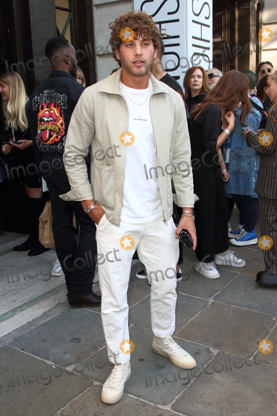 Eyal Booker Photo - London UK  Eyal Booker  at Spring Summer 2020 London Fashion Week 13th September 2018 RefLMK73-S2346-140919 Keith MayhewLandmark Media WWWLMKMEDIACOM