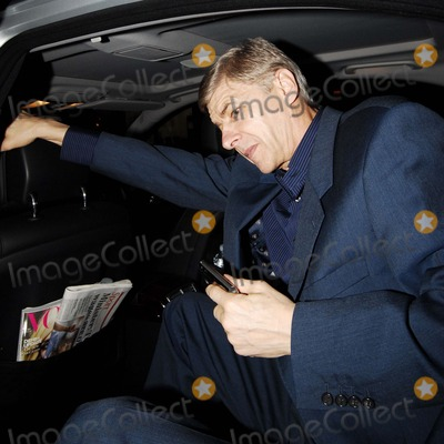 Arsene Wenger Photo - London UK Arsenal Football team manager Arsene Wenger arriving for the  launch party for NikeID  at Niketown Oxford Circus 1st November 2007 Steve McGarryLandmark Media