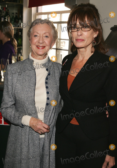 Thelma Barlow Photo - London UK Thelma Barlow from Coronation Street with producer Norma Heyman  at a photocall to announce the nominees for  the British Independent Film Awards in November 2005 at the Bar 1920 Soho House in London  Barlow has been nominated for her role in Mrs Henderson Presents whilst Grant has been nominated for her role as producer in the same film   25th October 2005 Keith MayhewLandmark Media