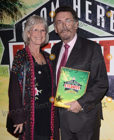 Robert Powell Photo - London UK  231013Robert Powell and wife Babs Powell at the From Here To Eternity Press Night at the Shaftesbury Theatre in the West End23 October 2013Ref LMK73-45565-240113Keith MayhewLandmark MediaWWWLMKMEDIACOM