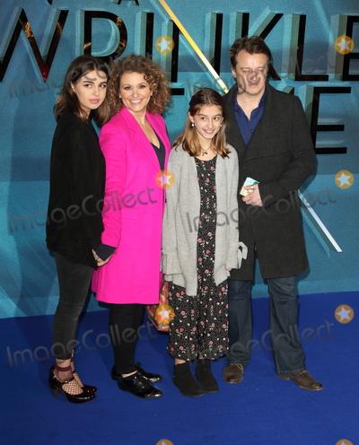 Nadia Sawalha Photo - London UK Nadia Sawalha at  the European premiere of Disneys A Wrinkle In Time at BFI IMAX on March 13 2018 in London EnglandRef LMK73-J1720-140318Keith MayhewLandmark MediaWWWLMKMEDIACOM