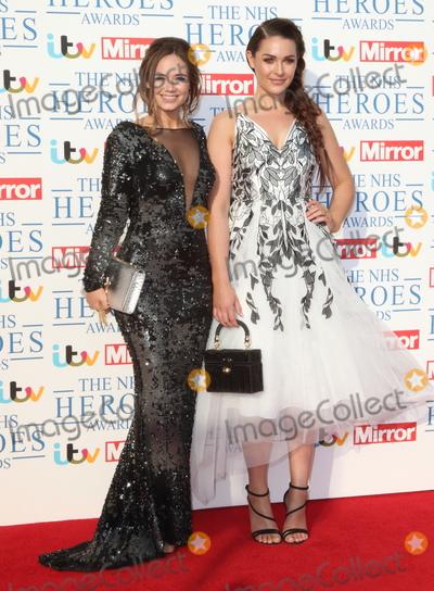Anna Passey Photo - London UK Daisy Wood-Davis and Anna Passey at NHS Heroes Awards at the London Hilton Park Lane London on Monday 14 May 2018Ref LMK73-J2025-150518Keith MayhewLandmark MediaWWWLMKMEDIACOM