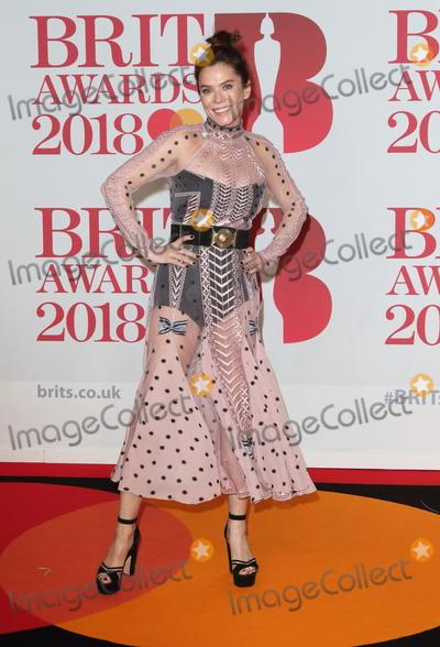 Anna Friel Photo - London UK Anna Friel at The Brit Awards 2018 at the O2 Arena Greenwich Peninsula London on Wednesday February 21st 2018 Ref LMK73-J1610-220218Keith MayhewLandmark MediaWWWLMKMEDIACOM