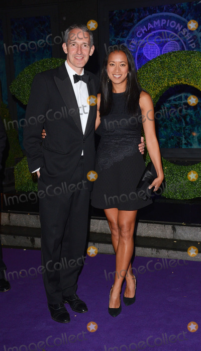 Anne Keothavong Photo - London UK 060714Anne Keothavong and guest  at The Wimbledon Champions Dinner held at The Royal Opera House  London6 July  2014 Ref LMK392-49011-070714Vivienne VincentLandmark Media WWWLMKMEDIACOM