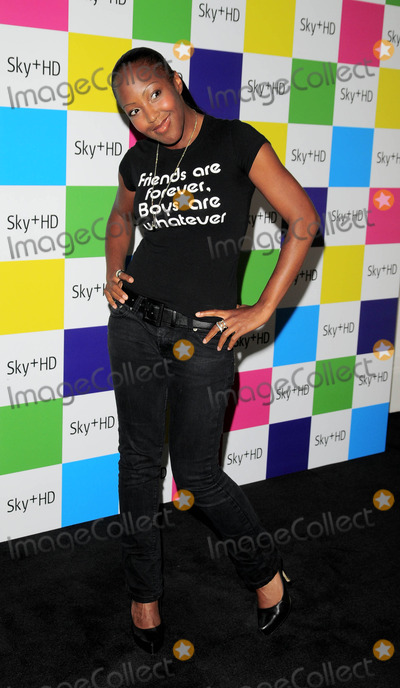 Angellica Bell Photo - London UK Angellica Bell at the Sky  HD Designer Box Collection launch party held Il Bottaccio Restaurant Grosvenor Place14 August 2008Can NguyenLandmark Media