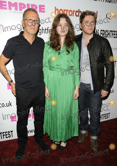 Alice Englert Photo - London UK  Director Jeremy Lovering Alice Englert  Allen Leechat  the In Fear UK film premiere Film4 FrightFest film festival day 4 Empire cinema Leicester Square London 25th August 2013 RefLMK315-45065-260813 Can NguyenLandmark MediaWWWLMKMEDIACOM