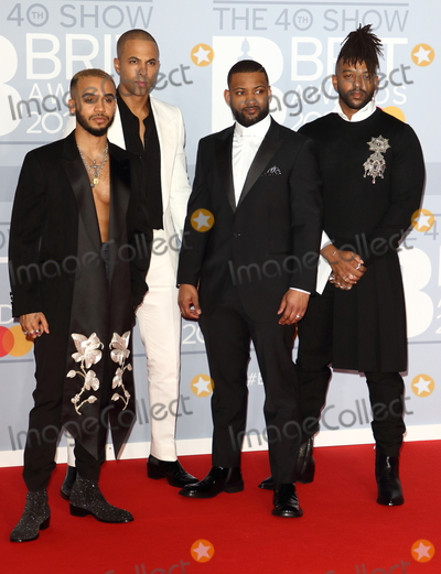 JLS Photo - London UK JLS at 40th Brit Awards Red Carpet arrivals The O2 Arena London on February 18th 2020Ref  LMK73-J6246-190220Keith MayhewLandmark Media WWWLMKMEDIACOM