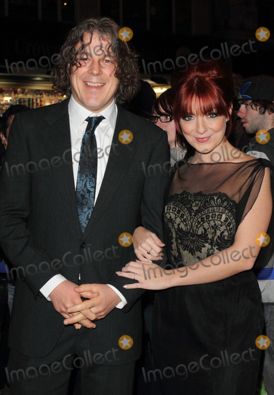 Alan Davies Photo - London UK Alan Davies and Sheridan Smith  at the Whatsonstagecom Theatregoers Choice Awards at the Prince of Wales Theatre 19th February 2012  Keith MayhewLandmark Media