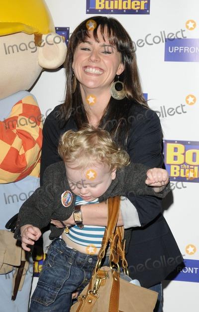 Jill Halfpenny Photo - London UK Jill Halfpenny and Son at the Bob The Builder Legend of the Golden Hammer premiere held at the West End Cinema 15th May 2010Can NguyenLandmark Media