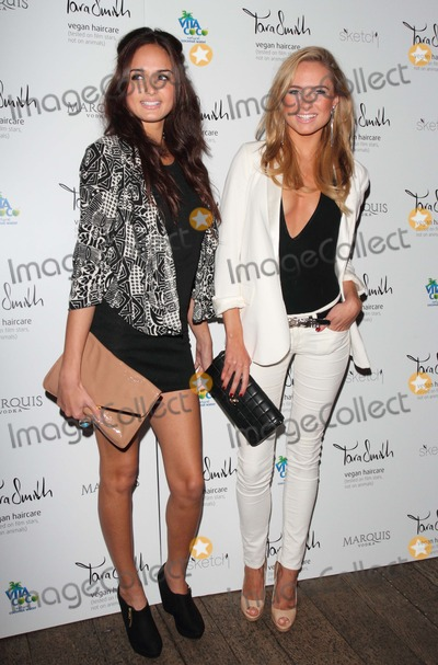 Anita Kaushik Photo - London UK  Anita Kaushik and Kimberley Garner   at the Tara Smith Haircare launch party held at Sketch in Mayfair26 September 2012Keith MayhewLandmark Media