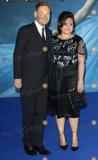 Cinderella Photo - London UK Kenneth Branagh and wife Lindsay Brunnock  at the UK Premiere of Cinderella at Odeon Leicester Square London on March 19th 2015Ref LMK73-50753-200315Keith MayhewLandmark Media WWWLMKMEDIACOM
