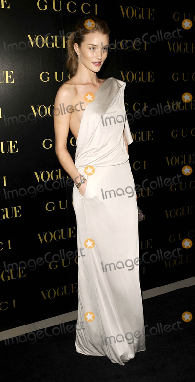 Alexandra Shulman Photo - London UK Rosie Huntington-Whiteley at the Vogue and Gucci Dinner Gala honouring Frida Giannini (Guccis creative director) hosted by Alexandra Shulman (British Vogue editor) at Saatchi Gallery in London 1st April 2009Can NguyenLandmark Media
