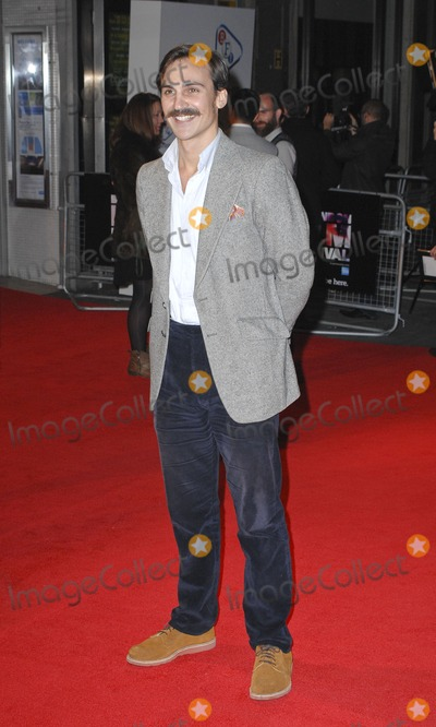 Henry Lloyd-Hughes Photo - London UK Henri Lloyd HughesBFI London Film Festival Gala Screening of  Hello Carter at the Odeon West End Leicester Square London 12th October 2013  LMK386-45527-131013Gary MitchellLandmark Media WWWLMKMEDIACOM