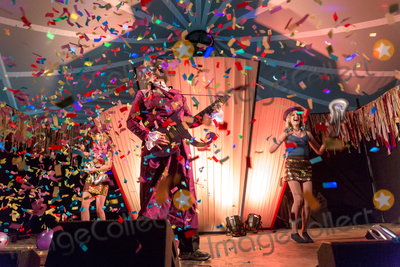 Rachel Parris Photo - Southwold Suffolk Marcus Brigstocke performs his homage to Prince with his children and partner comedian RAchel Parris at the 2018 Latitude Festival at Henham Park near Southwold Suffolk 13th July 2018Ref LMK73-J2315-160718Keith MayhewLandmark MediaWWWLMKMEDIACOM