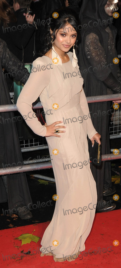 Afshan Azad Photo - London UK  111110Afshan Azad at the World Premiere of the film Harry Potter and the Deathly Hallows Part 1 held at the Odeon Leicester Square11 November 2010SydLandmark Media
