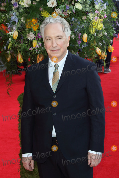 Alan Rickman Photo - London UK Alan Rickman at UK Premiere of A Little Chaos at the Odeon Kensington London on April 13 2015 in London England Ref LMK73-50938-140515Keith MayhewLandmark Media WWWLMKMEDIACOM