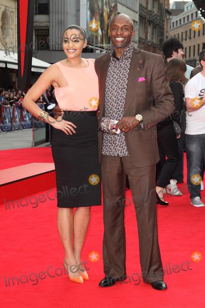 Amal Fashanu Photo - London UK Amal Fashanu and John Fashanu  at the The Amazing Spider-Man 2 World Premiere at the Odeon Leicester Square London 10th April  2014 RefLMK73-48129-110414Keith MayhewLandmark MediaWWWLMKMEDIACOM