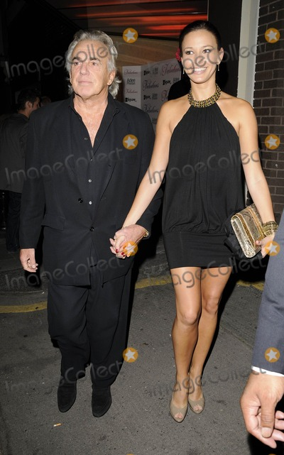 Peter Stringfellow Photo - London UK Bella Strongfellow and Peter Stringfellow at the Fabulous Hair Care Range Launch Party held at the Franckies Italian Bar  Grill in London 25th August 2009Ref LMK315-Can NguyenLandmark Media