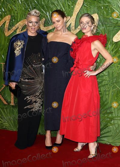 Annabelle Wallis Photo - London UK Pink Stella McCartney Annabelle Wallis  at The Fashion Awards 2017 at the Royal Albert Hall Kensington Gore London on Monday 4 December 2017Ref LMK73-J1249-051217Keith MayhewLandmark Media WWWLMKMEDIACOM