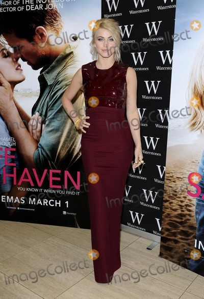 Nicholas Sparks Photo - London UK Julianne Hough at An Evening with Nicholas Sparks and stars of Safe Haven  at Waterstones Piccadilly London February 20th 2013 Gary MitchellLandmark Media