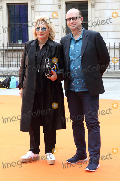 Jennifer Saunders Photo - London UK Jennifer Saunders and Adrian Edmondson at Royal Academy Summer Exhibition 2017 VIP Preview party at the Royal Academy of Arts Piccadilly London on 7th June 2017Ref LMK73-J424-080617Keith MayhewLandmark MediaWWWLMKMEDIACOM