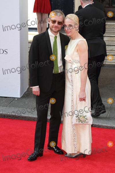 Amanda Abbington Photo - London UK Martin Freeman and Amanda Abbington  at the Arqiva BAFTA Television Awards Red carpet arrivals at the Theatre Royal Drury Lane London on 18th May 2014RefLMK73-48511-190514 Keith MayhewLandmark MediaWWWLMKMEDIACOM