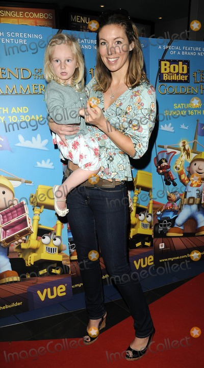 Emma Crosby Photo - London UK Emma Crosby and Goddaughter at the Bob The Builder Legend of the Golden Hammer premiere held at the West End Cinema 15th May 2010Can NguyenLandmark Media