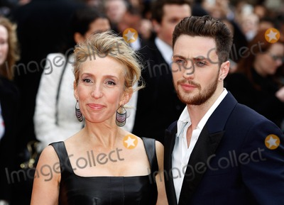 Aaron Taylor-Johnson Photo - London UK Aaron Taylor Johnson and Sam Taylor Wood attending the Godzilla European Premiere at The Odeon Leicester Square in London 11th May 2014Ref LMK12-48434-120514J AdamsLandmark MediaWWWLMKMEDIACOM