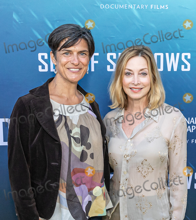 The National Photo - LOS ANGELES CA - JULY 10  (L to R) Environmentalist Dr Shelley Luce and Actress Singer Dancer Sharon Lawrence attends the National Geographic Sea of Shadows Movie Premiere on July 10 2019 in Los Angeles California  (Photo by Corine SolbergImageCollectcom)
