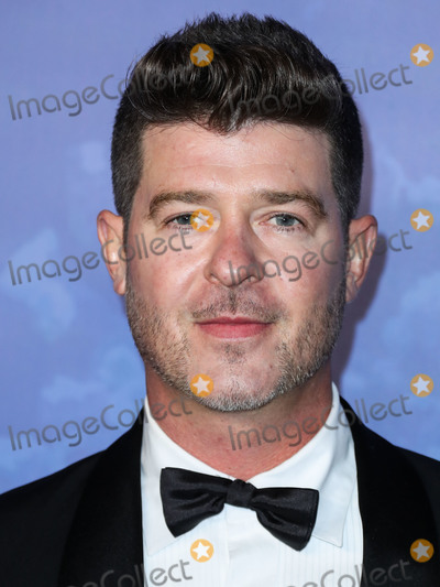 Robin Thicke Photo - BEVERLY HILLS LOS ANGELES CALIFORNIA USA - FEBRUARY 06 Singer Robin Thicke arrives at the 2020 Hollywood For The Global Ocean Gala Honoring HSH Prince Albert II Of Monaco held at the Palazzo di Amore on February 6 2020 in Beverly Hills Los Angeles California United States (Photo by Xavier CollinImage Press Agency)