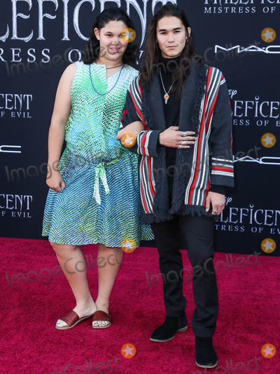 BooBoo Stewart Photo - HOLLYWOOD LOS ANGELES CALIFORNIA USA - SEPTEMBER 30 Sage Stewart and Booboo Stewart arrive at the World Premiere Of Disneys Maleficent Mistress Of Evil held at the El Capitan Theatre on September 30 2019 in Hollywood Los Angeles California United States (Photo by Xavier CollinImage Press Agency)