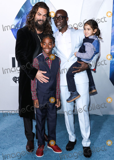 Djimon Hounsou Photo - HOLLYWOOD LOS ANGELES CA USA - DECEMBER 12 Actors Jason Momoa and Djimon Hounsou arrive at the Los Angeles Premiere Of Warner Bros Pictures Aquaman held at the TCL Chinese Theatre IMAX on December 12 2018 in Hollywood Los Angeles California United States (Photo by David AcostaImage Press Agency)