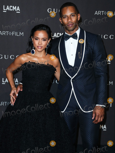 Karrueche Tran Photo - LOS ANGELES CA USA - NOVEMBER 03 Karrueche Tran Victor Cruz at the 2018 LACMA Art  Film Gala held at the Los Angeles County Museum of Art on November 3 2018 in Los Angeles California United States (Photo by Xavier CollinImage Press Agency)