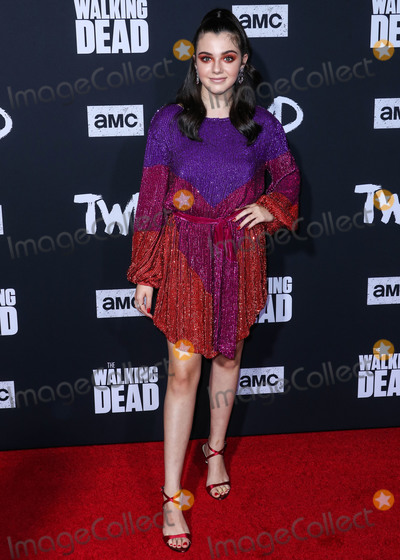 Alexa Nisenson Photo - HOLLYWOOD LOS ANGELES CALIFORNIA USA - SEPTEMBER 23 Alexa Nisenson arrives at the Los Angeles Special Screening Of AMCs The Walking Dead Season 10 held at the TCL Chinese Theatre IMAX on September 23 2019 in Hollywood Los Angeles California United States (Photo by Xavier CollinImage Press Agency)