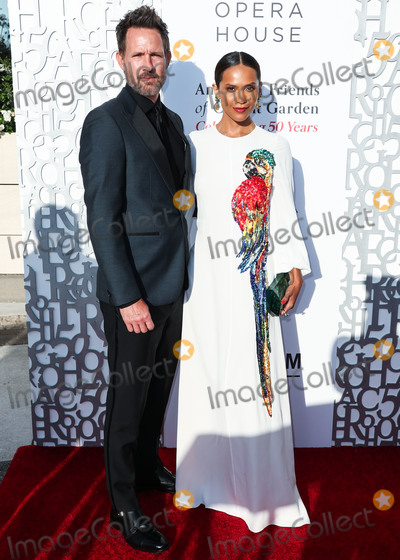 Covent Garden Photo - BEVERLY HILLS LOS ANGELES CALIFORNIA USA - JULY 10 Chris Payne Gilbert and Lesley-Ann Brandt arrive at the American Friends Of Covent Garden 50th Anniversary Celebration held at Jean-Georges Beverly Hills at Waldorf Astoria Beverly Hills on July 10 2019 in Beverly Hills Los Angeles California United States (Photo by Xavier CollinImage Press Agency)