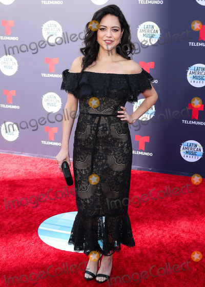 Alyssa Diaz Photo - HOLLYWOOD LOS ANGELES CA USA - OCTOBER 25 Alyssa Diaz at the 2018 Latin American Music Awards held at the Dolby Theatre on October 25 2018 in Hollywood Los Angeles California United States (Photo by Xavier CollinImage Press Agency)