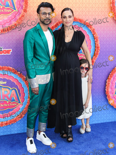 Utkarsh Ambudkar Photo - BURBANK LOS ANGELES CALIFORNIA USA - MARCH 07 Utkarsh Ambudkar and Naomi Campbell arrive at the Los Angeles Premiere Of Disney Juniors Mira Royal Detective held at the Walt Disney Studios Main Theater on March 7 2020 in Burbank Los Angeles California United States (Photo by Xavier CollinImage Press Agency)