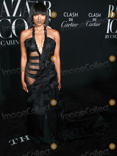 Kat Graham Photo - MANHATTAN NEW YORK CITY NEW YORK USA - SEPTEMBER 06 Kat Graham arrives at the 2019 Harpers BAZAAR Celebration of ICONS By Carine Roitfeld held at The Plaza Hotel on September 6 2019 in Manhattan New York City New York United States (Photo by Xavier CollinImage Press Agency)
