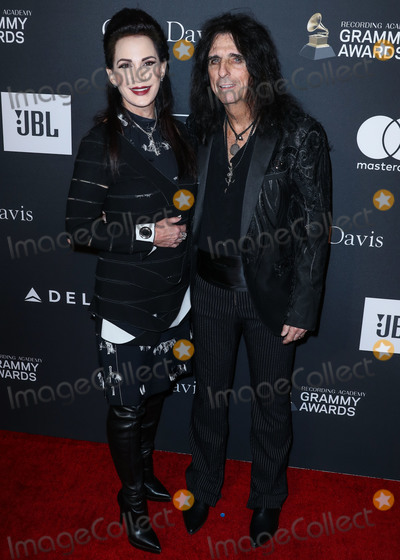 Alice Cooper Photo - BEVERLY HILLS LOS ANGELES CA USA - FEBRUARY 09 Sheryl Goddard and husbandsinger Alice Cooper arrive at The Recording Academy And Clive Davis 2019 Pre-GRAMMY Gala held at The Beverly Hilton Hotel on February 9 2019 in Beverly Hills Los Angeles California United States (Photo by Xavier CollinImage Press Agency)