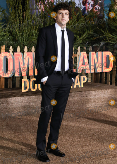 Jesse Eisenberg Photo - WESTWOOD LOS ANGELES CALIFORNIA USA - OCTOBER 10 Actor Jesse Eisenberg arrives at the Los Angeles Premiere Of Sony Pictures Zombieland Double Tap held at the Regency Village Theatre on October 10 2019 in Westwood Los Angeles California United States (Photo by David AcostaImage Press Agency)