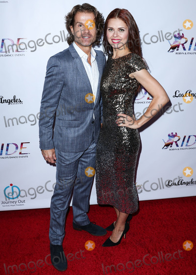 Anna Trebunskaya Photo - SANTA MONICA LOS ANGELES CA USA - SEPTEMBER 29 Louis van Amstel Anna Trebunskaya at the RIDE Foundations 2nd Annual Dance For Freedom held at The Broad Stage on September 29 2018 in Santa Monica Los Angeles California United States (Photo by Xavier CollinImage Press Agency)