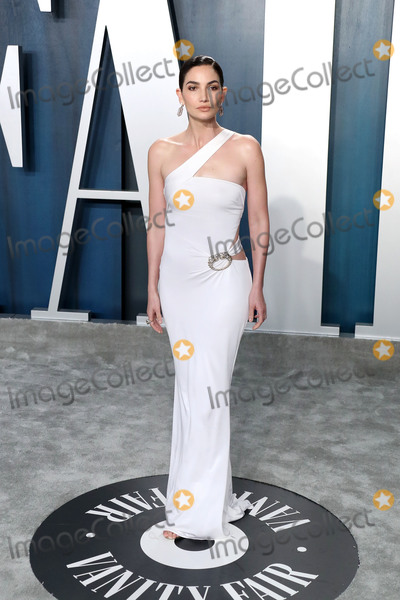 Lily Aldridge Photo - BEVERLY HILLS LOS ANGELES CALIFORNIA USA - FEBRUARY 09 Lily Aldridge arrives at the 2020 Vanity Fair Oscar Party held at the Wallis Annenberg Center for the Performing Arts on February 9 2020 in Beverly Hills Los Angeles California United States (Photo by Xavier CollinImage Press Agency)