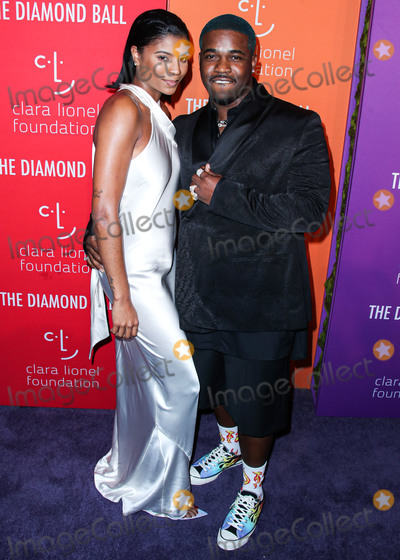 AAP Ferg Photo - MANHATTAN NEW YORK CITY NEW YORK USA - SEPTEMBER 12 Renell Medrano and AAP Ferg arrive at Rihannas 5th Annual Diamond Ball Benefitting The Clara Lionel Foundation held at Cipriani Wall Street on September 12 2019 in Manhattan New York City New York United States (Photo by Xavier CollinImage Press Agency)